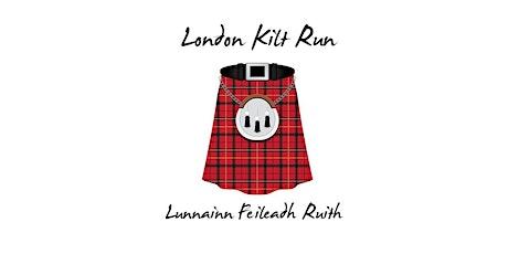 London Kilt Run 10k - St Andrew's Day! tickets