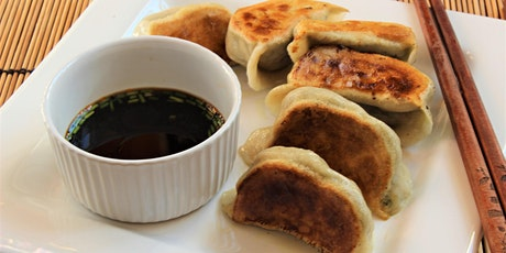 Online Family Cooking Fun, Chinese Grilled Dumplings. tickets