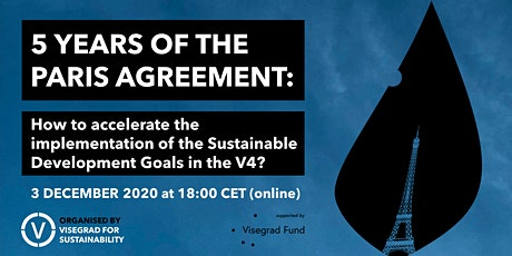 Paris 5: How to accelerate the implementation of the SDGs in the V4? tickets