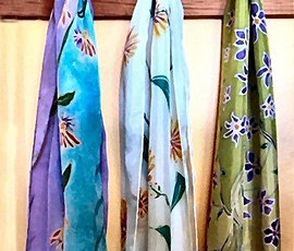 SILK SCARF PAINTING WORKSHOP, Sunday, January 24, 10:30-3:30 pm tickets