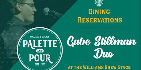 Palette & Pour  Dining Reservations tickets