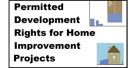 Permitted Development Rights for Home Improvement Projects tickets