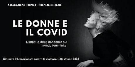 Le donne e il COVID biglietti