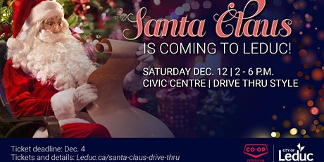 City of Leduc Santa Claus Drive Thru presented by Co Op tickets