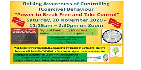 Raising Awareness of Controlling (Coercive) Behaviour tickets