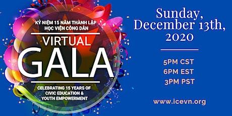 ICEVN 15th Anniversary Virtual Gala tickets