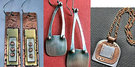 METALSMITHING- COLD CONNECTIONS: Riveting Basics,Monday,Jan 11,3:00-6:00 pm tickets