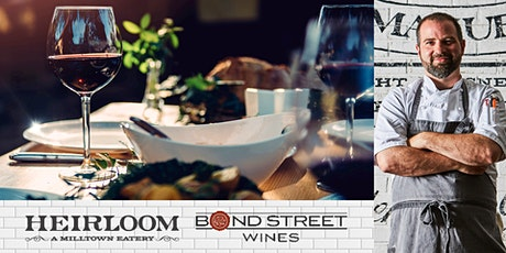 Chef's 5 Course Tasting Menu & Wine Pairing with Bond Street Wines tickets
