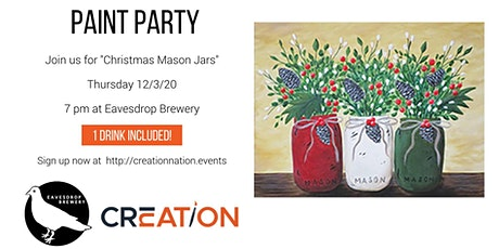 Paint Party at Eavesdrop Brewery 12/3 tickets