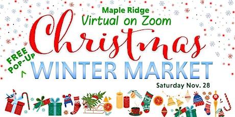 Maple Ridge Pop Up Christmas Craft Fair tickets