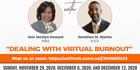 """Parenting Discussion:  """"Dealing with Virtual Burnout"""" tickets"""