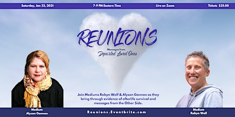 Reunions - Messages from Departed Loved Ones tickets