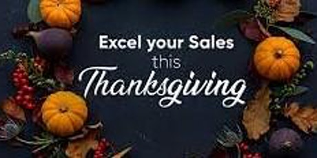 The Thanksgiving Sales Builder tickets