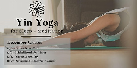Live Yin Yoga + Meditation for Sleep tickets