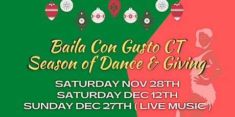 Baila Con Gusto CT Season of Dance & Giving tickets