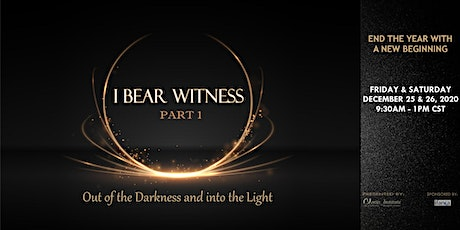 I Bear Witness Part 1: Living the Shahada tickets