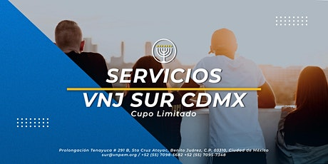 VNJ Sur - 2 Servicios para Jóvenes el Sábado 28 de Noviembre tickets