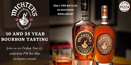 Michter's 10 and 25 Year Bourbon Tasting tickets