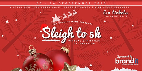 SLEIGH TO 5K - VIRTUAL CHRISTMAS FUNDRAISER tickets