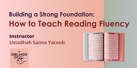 Building a Strong Foundation: How to Teach Reading Fluency tickets