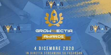 BUSINESSANGELS.NETWORK -  Grownnectia Awards  - ONLINE biglietti