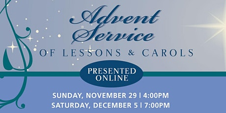 Advent Service of Lessons & Carols (#1) tickets