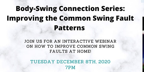 How to Improve Common Swing Faults Patterns this off season? tickets