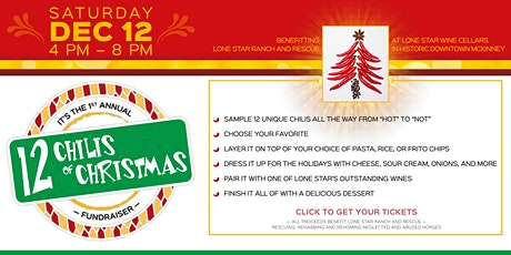 12 Chilis of Christmas Cook-Off and Fundraiser tickets