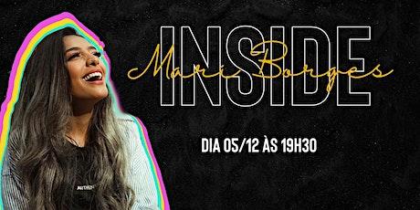 Mari Borges - Inside ingressos