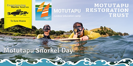 Motutapu Snorkel Day tickets