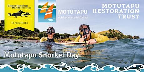 Motutapu Snorkel Day tickets