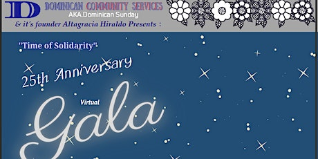 Dominican Community Services - AKA Dominican Sunday - Virtual Gala tickets