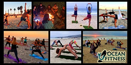 Sunset Beach Yoga, Fitness, and Bonfire Adventure! (Donation-Based Class) tickets
