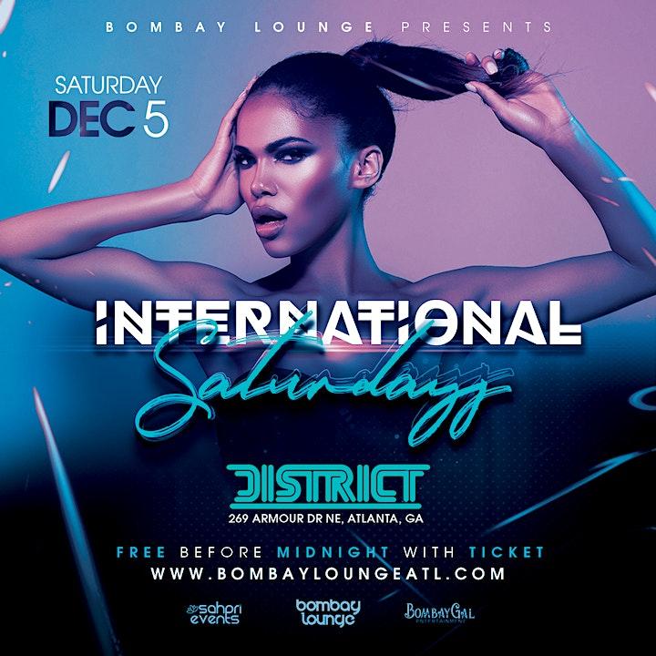 Bombay Lounge: International Saturdays | 12.05.20 image