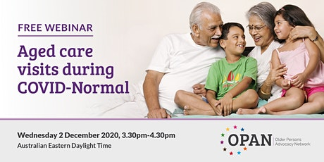 Aged Care Visits During COVID-Normal tickets