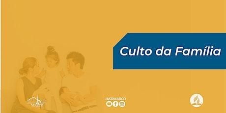 IASD MARCO - Domingo - Culto da Família ingressos