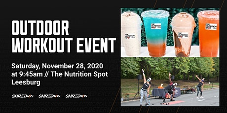Outdoor Workout: Shred415 x The Nutrition Spot Leesburg tickets