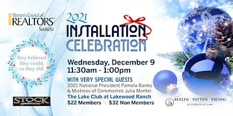2021 Officer Installation Celebration tickets