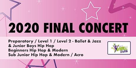 Kristen's Dance Studio - 2020 FINAL CONCERT 3 - Pink tickets