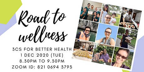 Road to Wellness: 3Cs for better health tickets