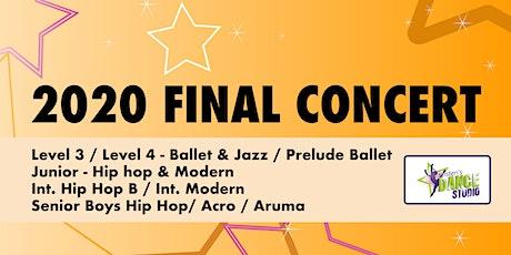 Kristen's Dance Studio - 2020 FINAL CONCERT 4 - Orange tickets