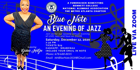 Blue Note: An Evening of Jazz with Gabbie McGee tickets
