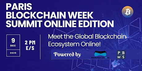 Paris Blockchain Week tickets