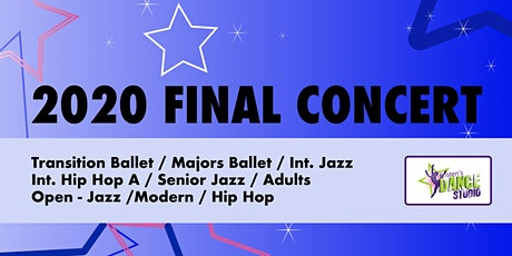 Kristen's Dance Studio - 2020 FINAL CONCERT 5 - Blue tickets