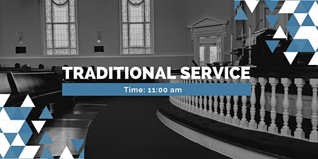 11:00am Traditional Worship in the Sanctuary