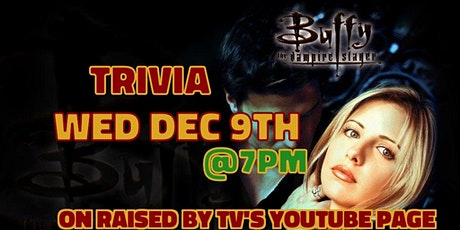 Buffy the Vampire Slayer Trivia tickets
