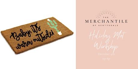 Holiday Doormat Workshop tickets