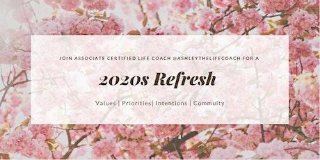 2020s Refresh Virtual Workshop tickets