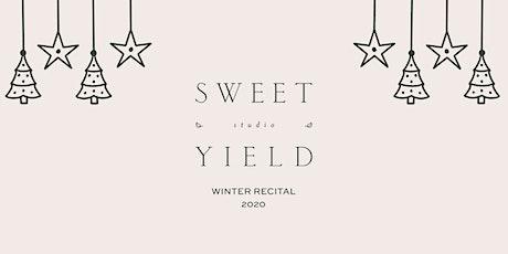 Show 1 | Sweet Yield Winter Recital 2020 tickets