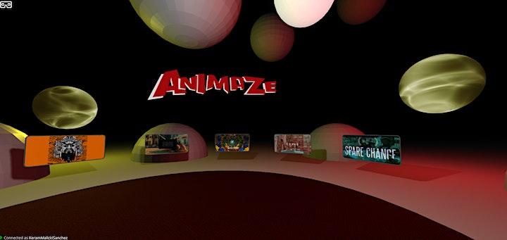 ANIMAZE VR in collaboration with VRTO FIVARs image